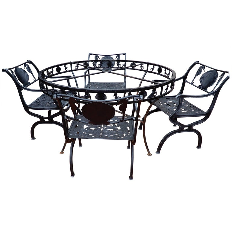 Molla Shell & Sea Horse Dining Set