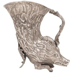 Silver Plated Rhyton by Gabriella Crespi for Christian Dior