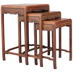 19th Century Chinese Nest of Tables