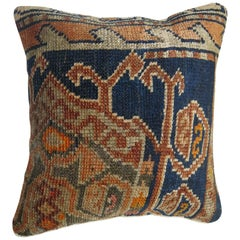 Blue Persian Rug Pillow