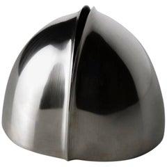 """Germoglio"" Lino Sabattini Design 1970s Silver Vase"
