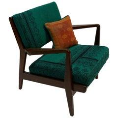 Jen Risom Walnut Lounge Chair