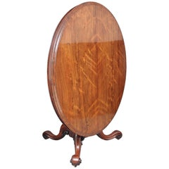19th Century Rosewood Breakfast or Centre Table