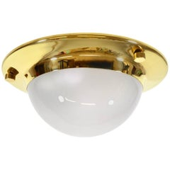 "Luigi Caccia Dominioni Azucena Lsp6 ""Tommy"" Ceiling or Wall Brass Lamp"
