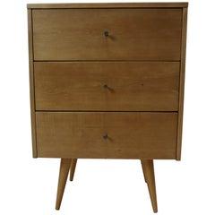 Paul McCobb Narrow Three Drawer Dresser, 1950