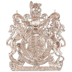 Bronze Coat of Arms, Formerly the Symbol of a Royal Warrant Holder