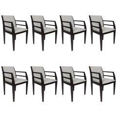 Set of Eight Constantin Boym Arbat Dining Chairs