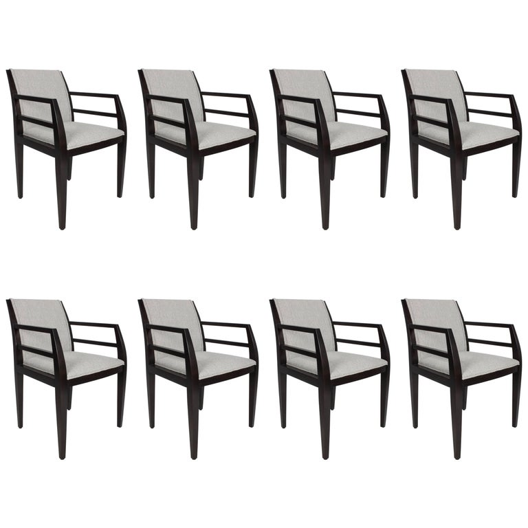 Set of Eight Constantin Boym Arbat Dining Chairs For Sale