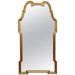 Hollywood Regency Gilt Wood Mirror