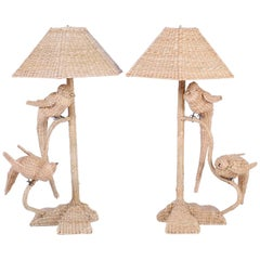 Pair of Mario Torres Table Lamps