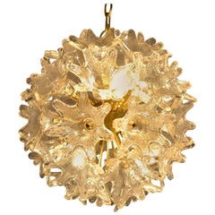 Midcentury Sputnik Murano Chandelier by Paolo Venini for VeArt