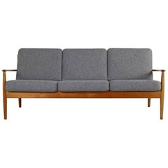 1960s Danish Modern Teak Sofa by Grete Jalk for France & Son Mod. 118/3