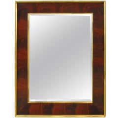 Ralph Lauren City Modern Oversize Wall Mirror Brown/Gold