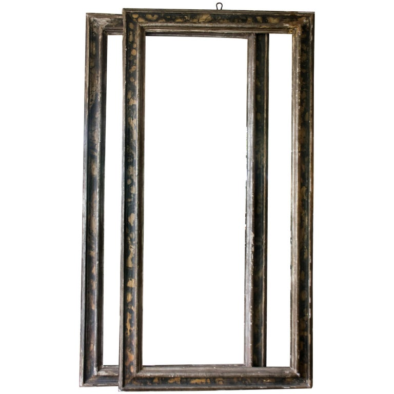 Tall Italian 19th Century Frames, Pair For Sale at 1stdibs