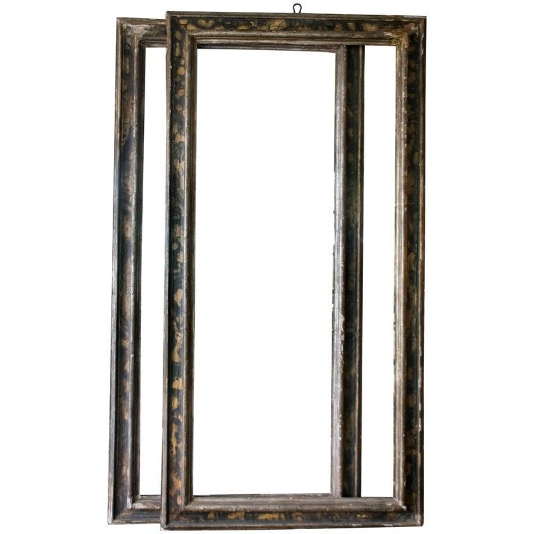 Tall Italian 19th Century Frames, Pair For Sale