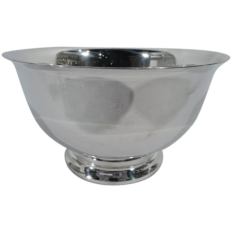 Traditional Sterling Silver Revere Bowl by Gorham