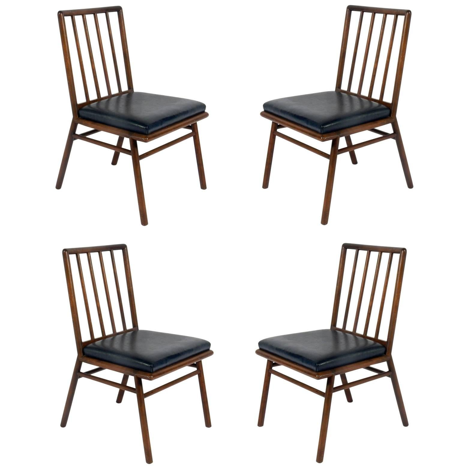 Set of Four Dining Chairs by T. H. Robsjohn-Gibbings
