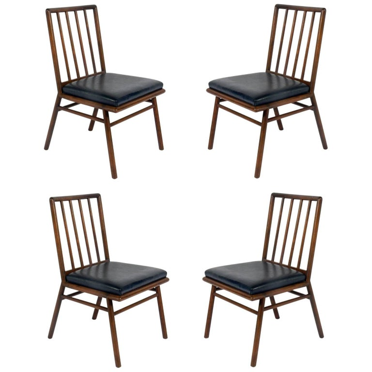 Set of Four Dining Chairs by T. H. Robsjohn-Gibbings For Sale