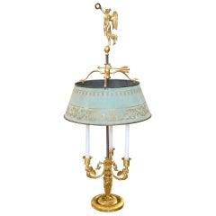 19th Century Russian Empire Ormolu Bouillotte Lamp