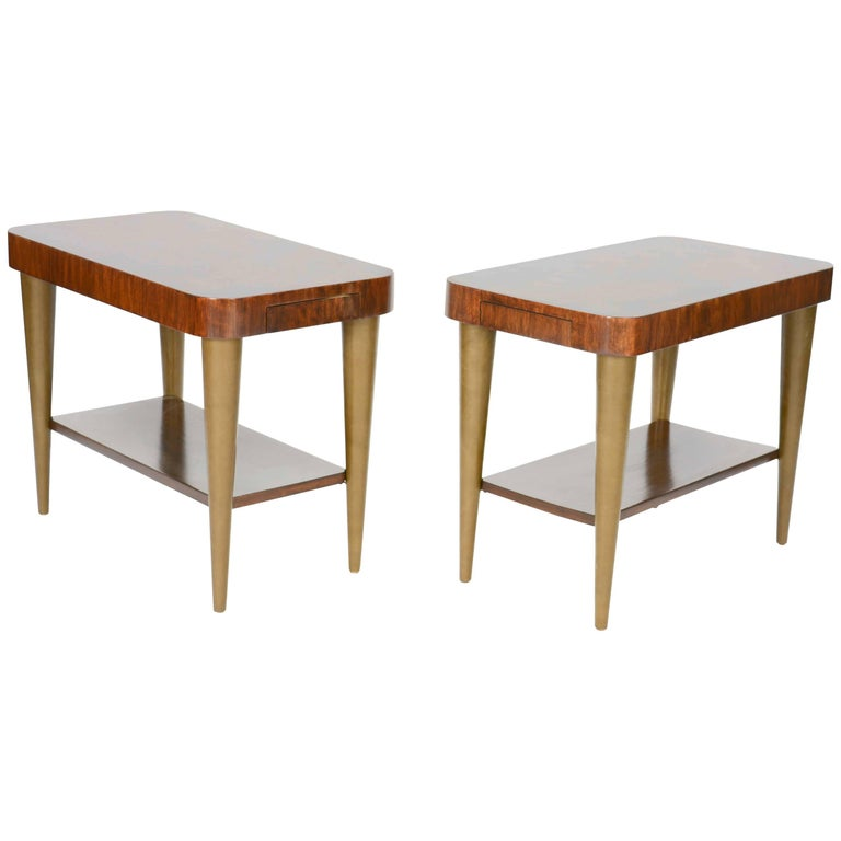 Gilbert Rohde's Side Tables for Paldao Line for Herman Miller, 1940 For Sale