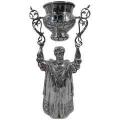 Antique German Sterling Silver Wedding Ceremonial King Cup