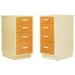 Pair of Eliel Saarinen and Pipsan Saarinen Swanson's Nightstands for Johnson