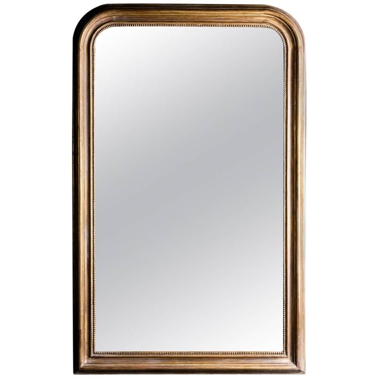 Hand-Carved Napoleon III Style Louis Philippe Mirror (2 pairs available)