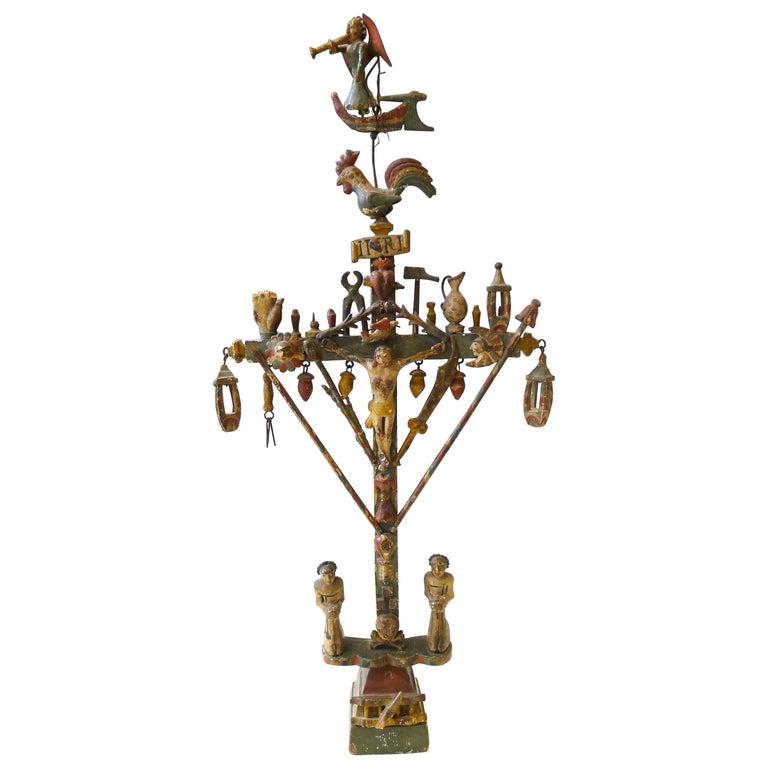 Bargeman's Cross to the Angel Musician, circa 1830