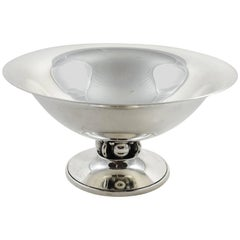 Sterling Silver Bowl by Georg Jensen Designer Lapaglia for International