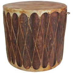 Indian Drum / Side Table