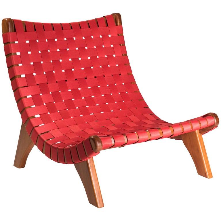 Michael van Beuren Mid-Century Butaque Lounge Chair for Indoor or Outdoor