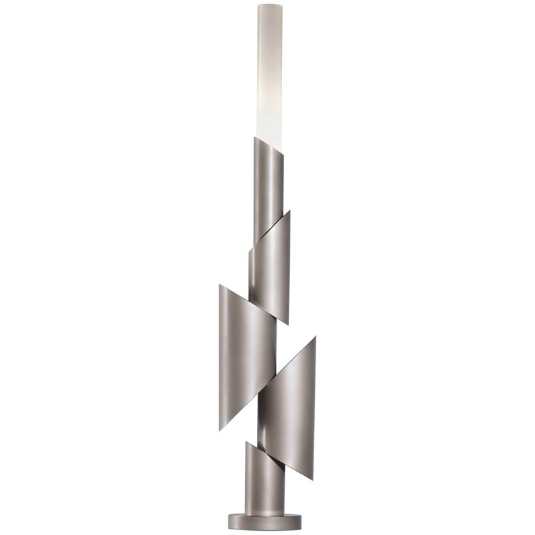 Totem II, Table Lamp, Signed William Guillon For Sale