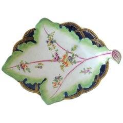 Cabbage Leaf Dish, Derby Porcelain Works, circa 1755