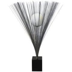 1970s Harry Bertoia Style Laurel Lamp