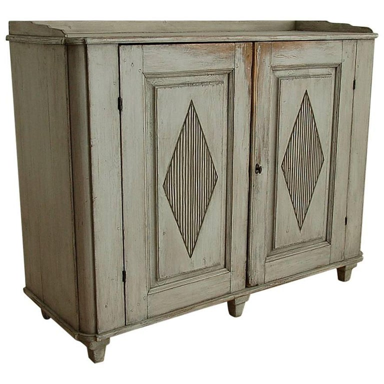 Swedish Gustavian Sideboard, Circa 1795, Origin: Sweden
