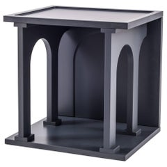 "Seletti Library Modular Wooden ""Renaissance-Arc"", Anthracite"