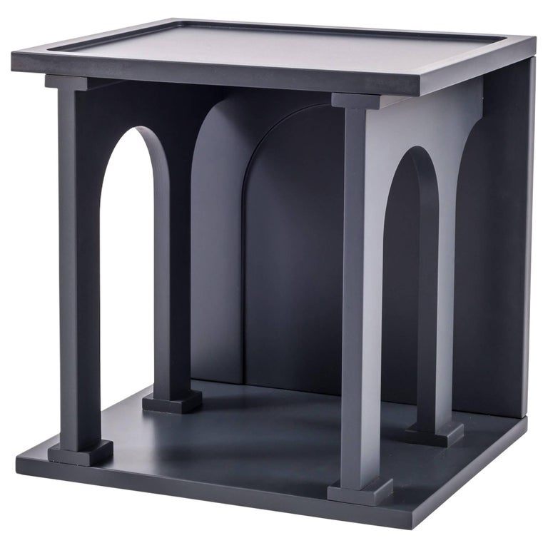 """Seletti Library Modular Wooden """"Renaissance-Arc"""", Anthracite For Sale"""