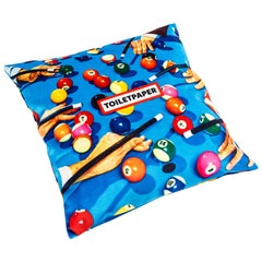 Seletti Polyester Cushion by 'Toiletpaper', Snooker