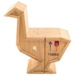 "Seletti ""Sending Animals"" Wooden Credenza, Goose"