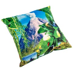 "Seletti Polyester Cushion by ""Toiletpaper"", Volcano"