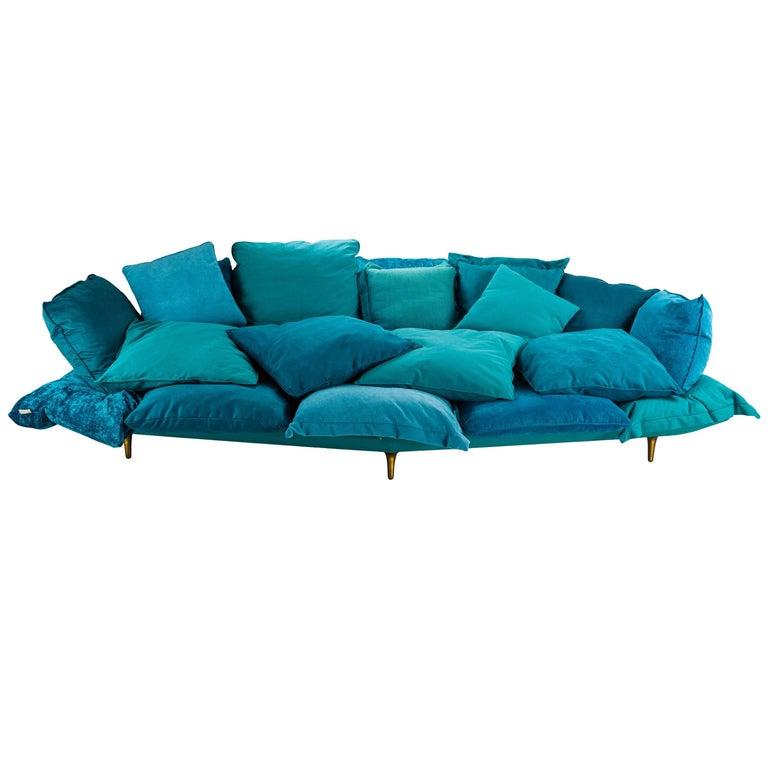 """Seletti Sofa """"Comfy"""" Turquoise"""