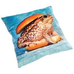 "Seletti Polyester Cushion by ""Toiletpaper"", Toad"