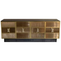 Flair Edition Brass Wire Sideboard