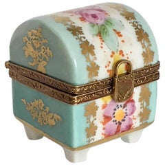 Limoges Dome Trunk Ring Box