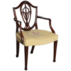 Set of 12 Hepplewhite Dining Chairs