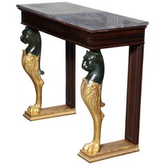 Empire Marble-Top Console