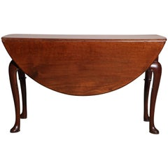 English Queen Anne Drop-Leaf Table