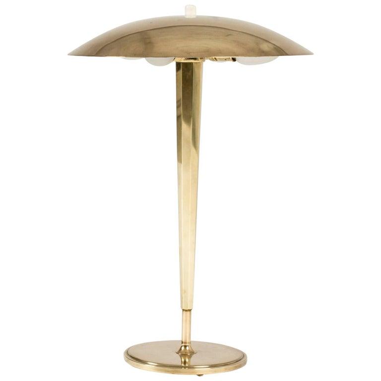 Brass Table Lamp from Böhlmarks