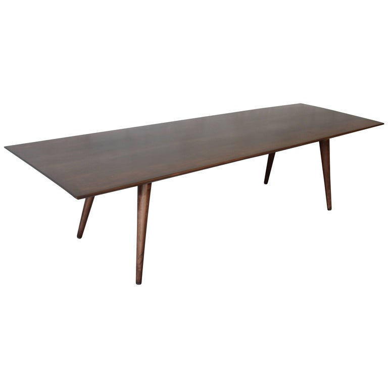 Paul McCobb Dark Brown Coffee Table