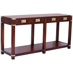 Campaign Style Console Table